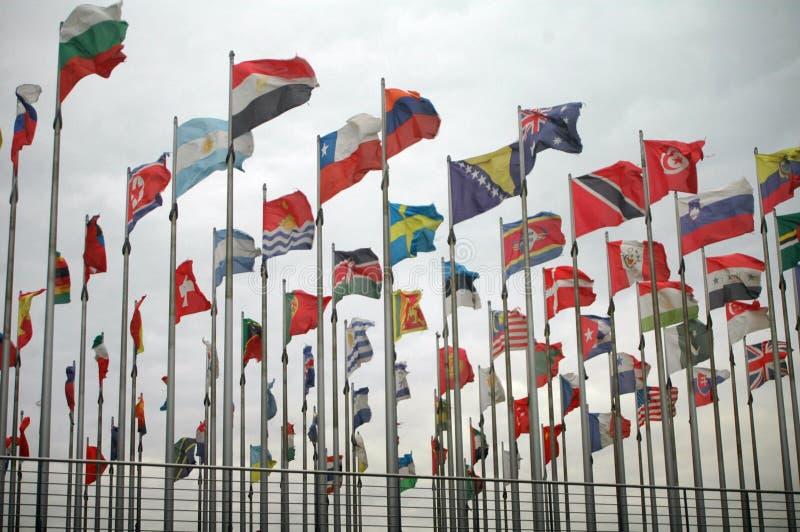 旗子莱比锡 免版税库存图片