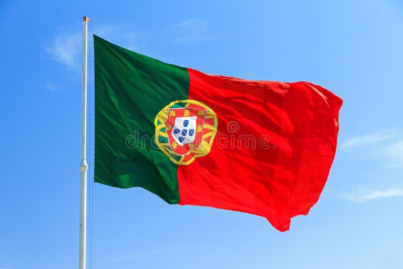 旗子葡萄牙 免版税图库摄影