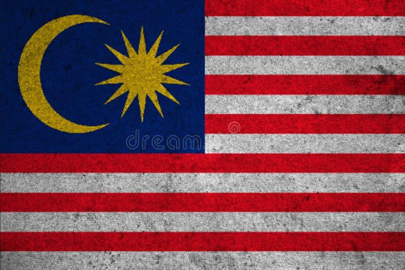 旗子马来西亚 库存例证