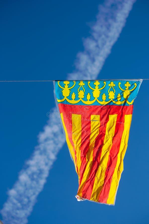 旗子巴伦西亚 免版税库存图片