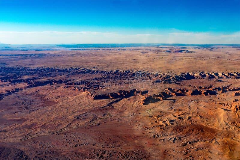 旗竿亚利桑那沙漠 图库摄影
