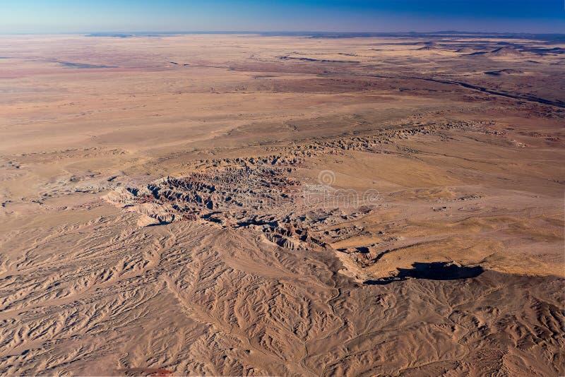 旗竿亚利桑那沙漠 免版税库存图片