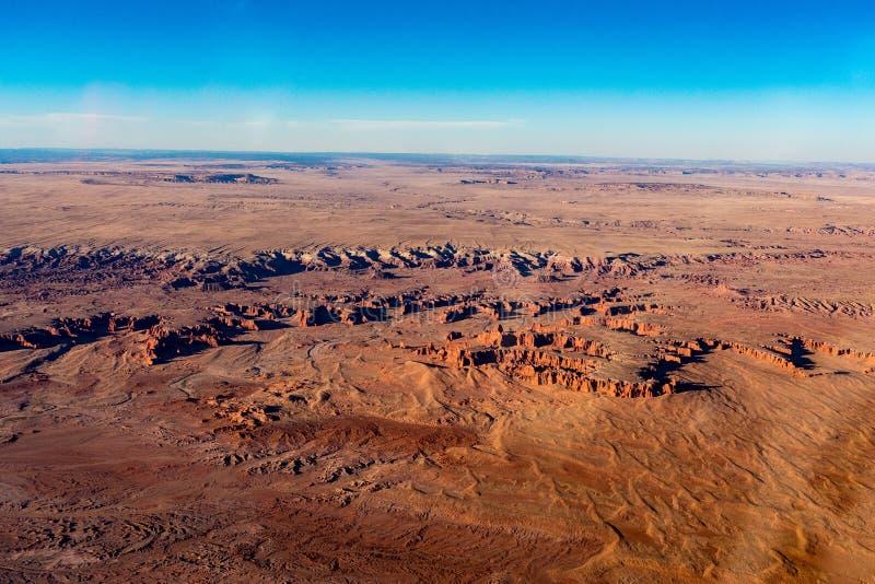 旗竿亚利桑那沙漠 免版税库存照片