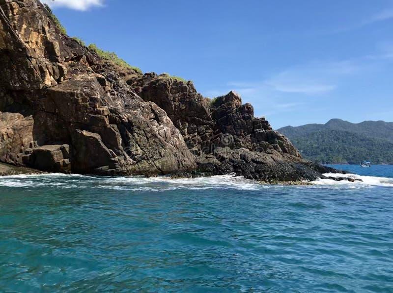 无人居住的海岛泰国 库存照片