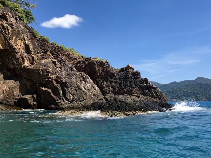 无人居住的海岛泰国 库存图片