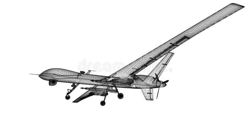无人空中车(UAV) 库存照片