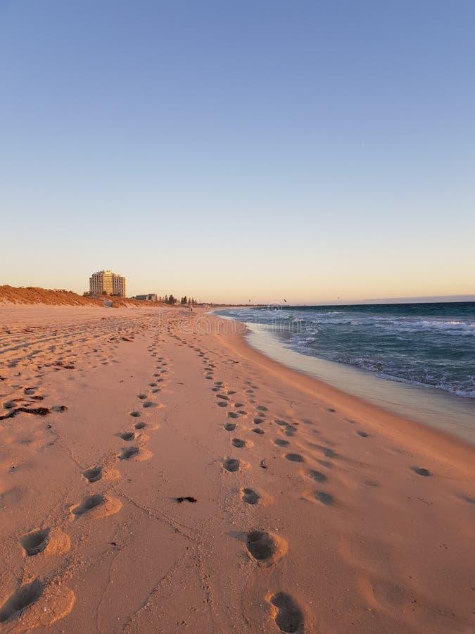 无休止的海岸线 库存照片