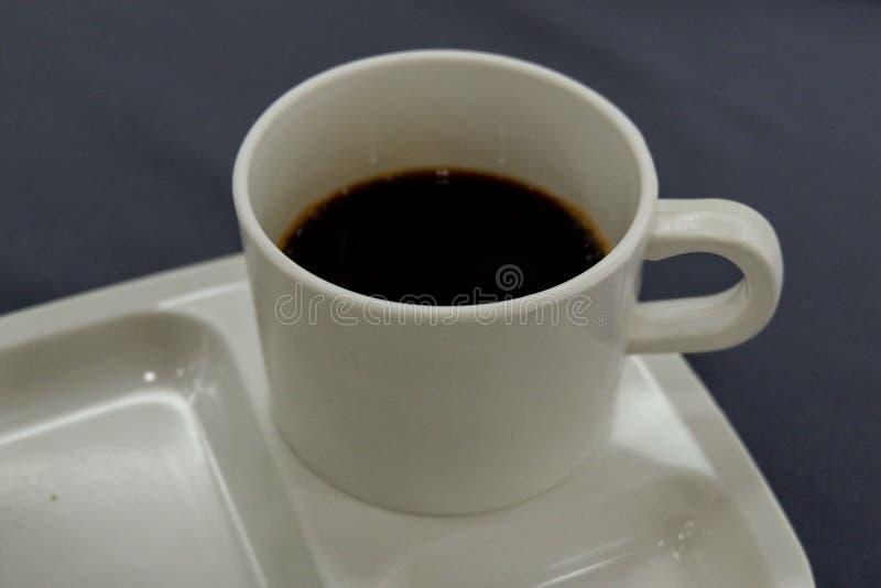无奶咖啡早晨 免版税库存照片