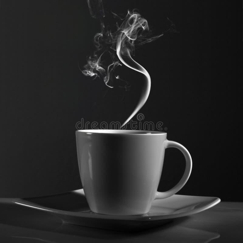 无奶咖啡杯子 图库摄影