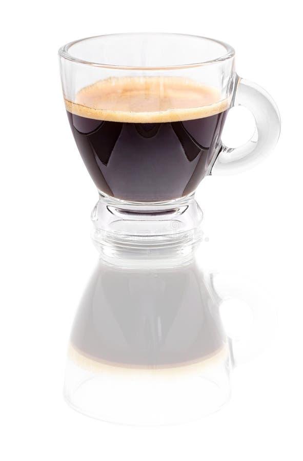 无奶咖啡浓咖啡 图库摄影