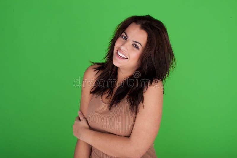 Download 无忧无虑的笑的妇女年轻人 库存照片. 图片 包括有 头发, 偶然, 设计, 查出, 方式, 人们, 新鲜 - 22358484