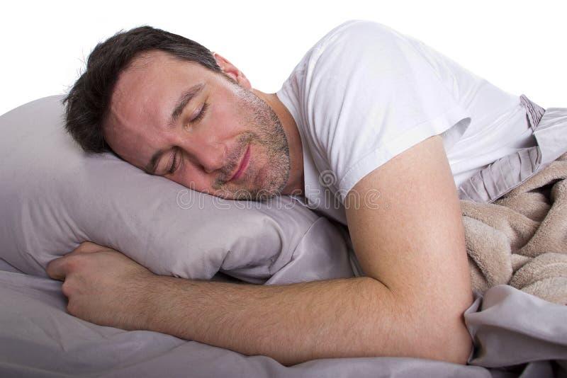 无法睡觉 免版税图库摄影
