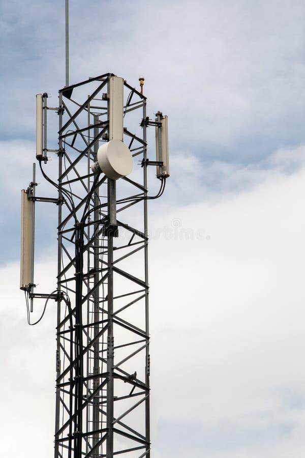无线电天线在皇家家庭局 库存照片