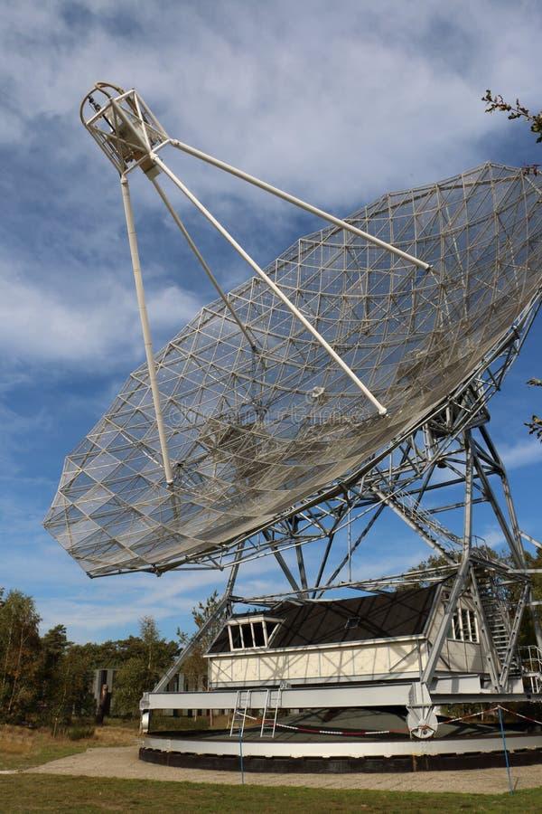 无线电望远镜在荷兰 免版税库存照片