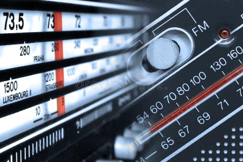 无线电条频器频率 库存图片