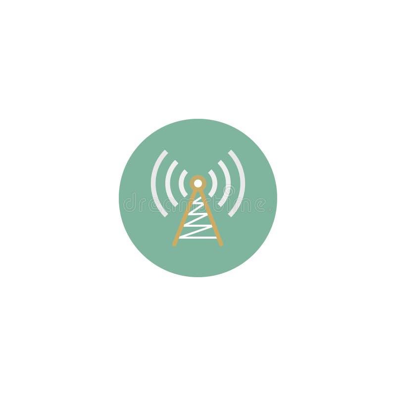 无线电波图片例证,象无线电波 也corel凹道例证向量 10 eps 皇族释放例证