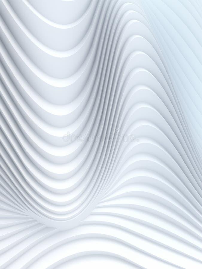 无线电波段摘要背景表面3d翻译 免版税库存图片