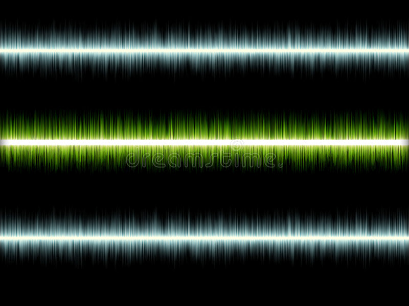 无线电波 库存例证