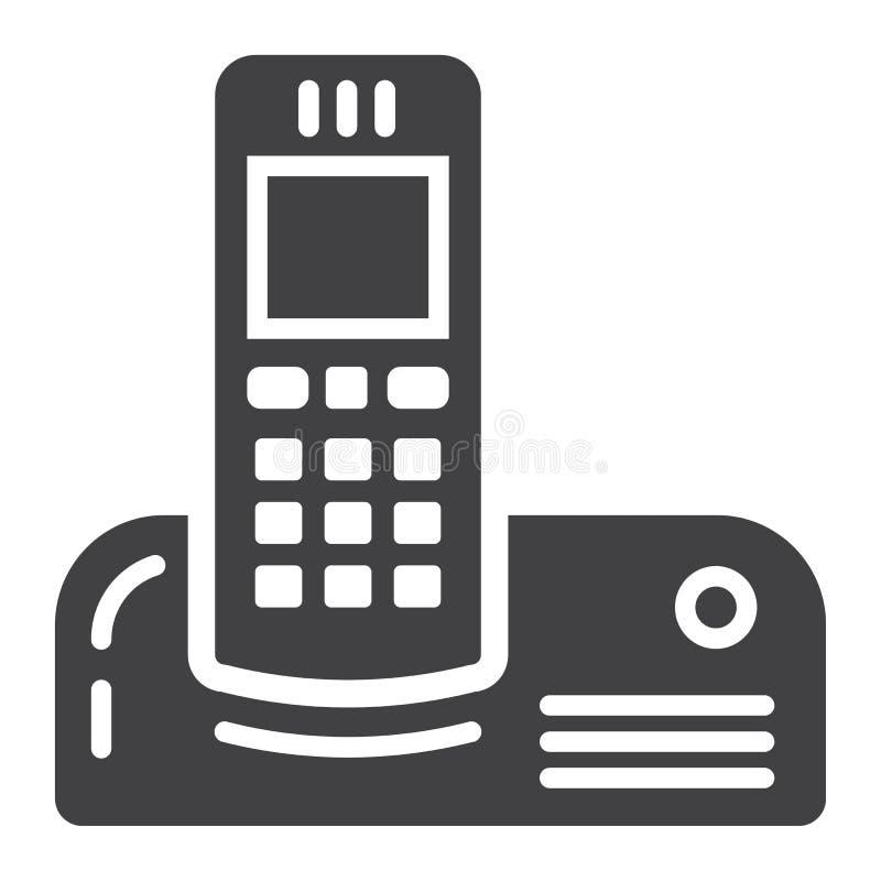 无线电话坚实象,家用电器 皇族释放例证