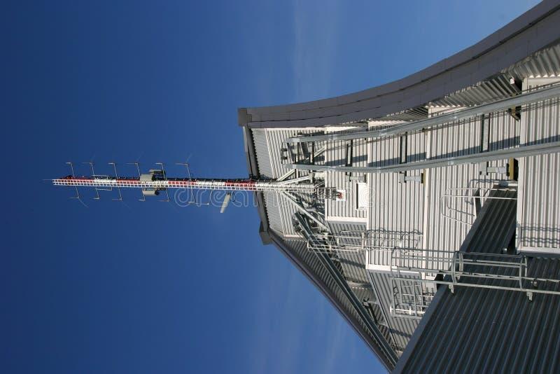 无线电铁塔 库存照片
