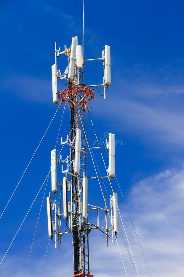 无线电antena 免版税库存图片