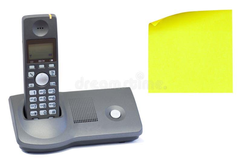 无绳电话 免版税库存图片