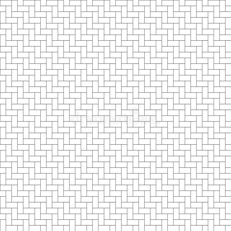 无缝人字形木条地板的样式 库存例证
