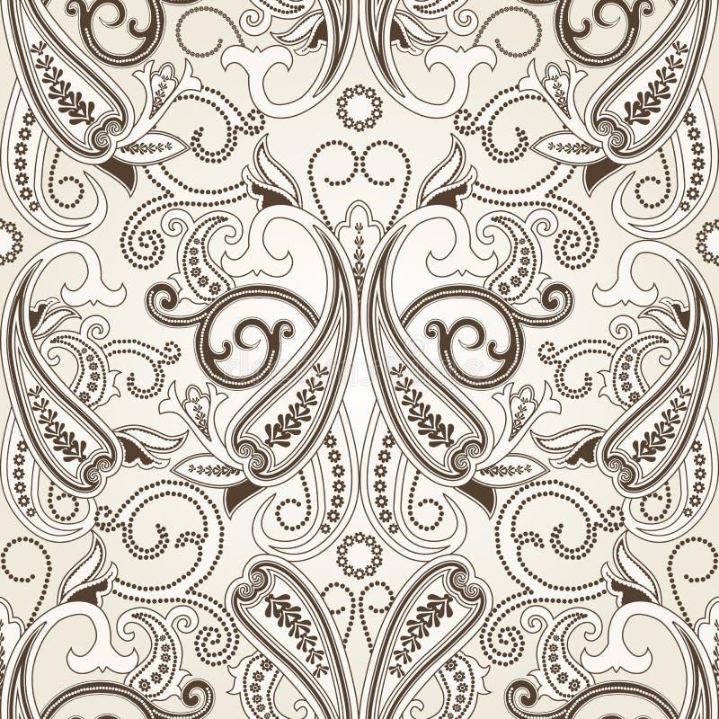Download 无缝佩兹利的模式 向量例证. 插画 包括有 印度, 金银细丝工, 经典, 装饰, arabel, 主题, 花卉 - 72368712