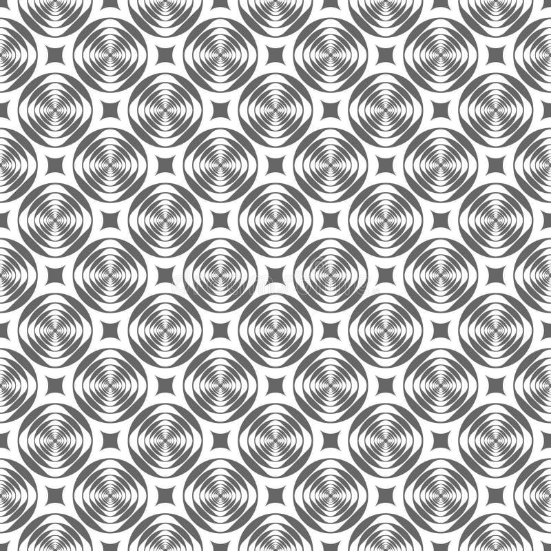无缝几何现代的模式 向量例证