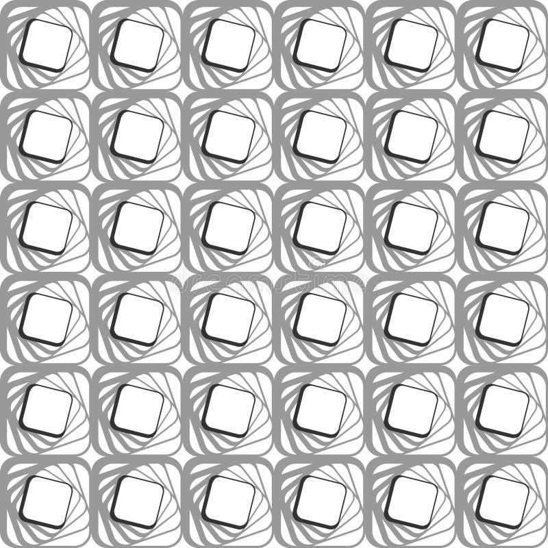 无缝几何现代的模式 库存例证