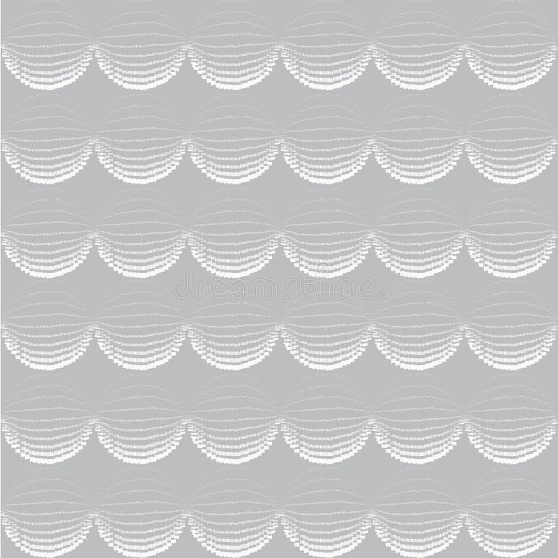 无缝几何的模式 抽象传染媒介织地不很细背景 库存例证