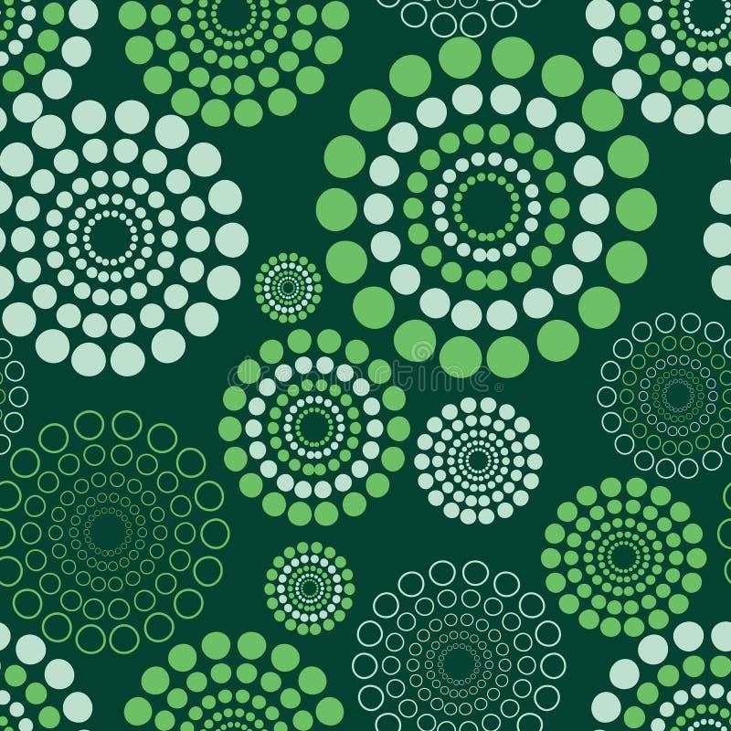 无缝圈子的模式 向量例证
