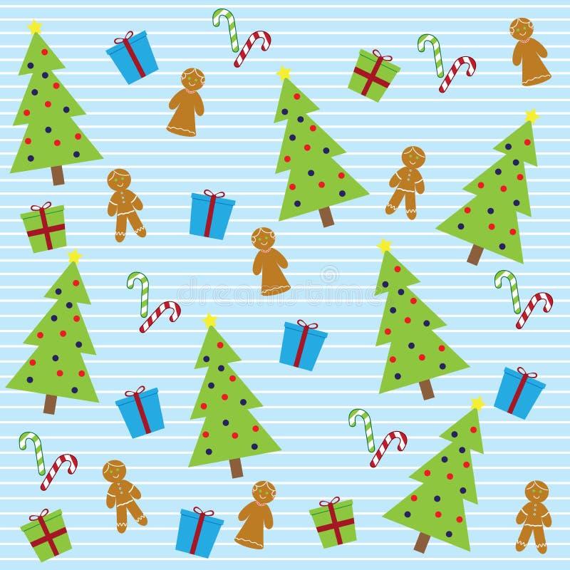 Download 无缝圣诞节的模式 向量例证. 插画 包括有 问候, 季节, 颜色, 设计, 传统, 姜饼, 模式, 艺术 - 22350150