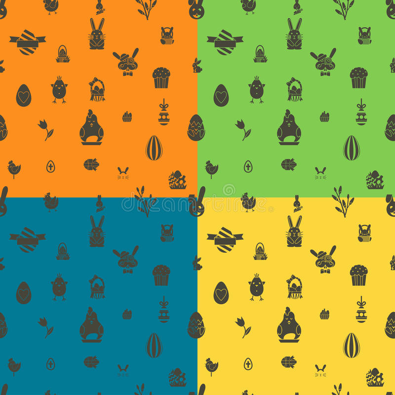 Download 无缝复活节的模式 向量例证. 插画 包括有 五颜六色, 小鸡, 例证, 图标, 节假日, 季节, 兔宝宝 - 59107571