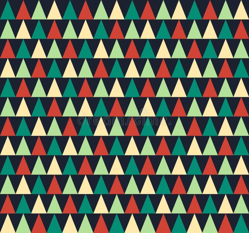 无缝抽象几何的模式 皇族释放例证
