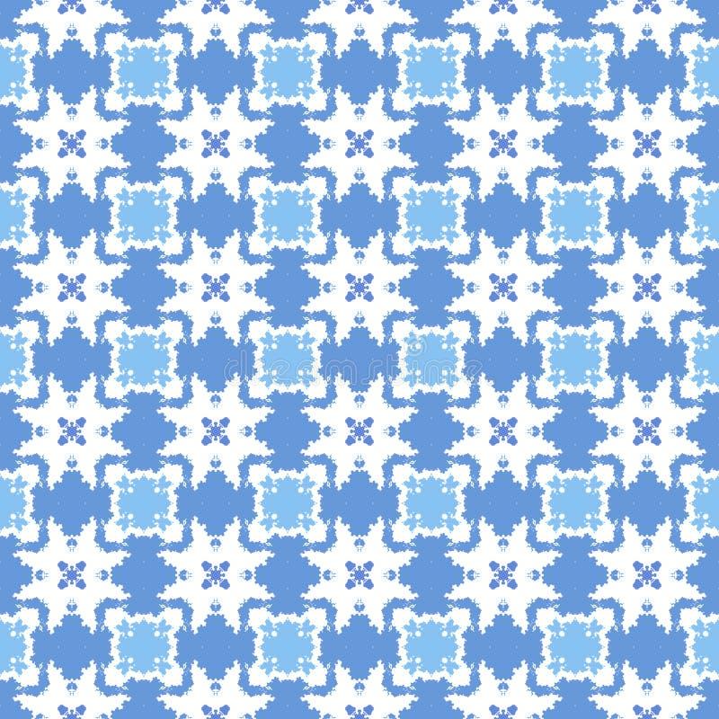 无缝抽象几何的模式 库存图片