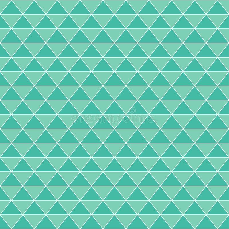 无缝抽象几何菱形的背景 皇族释放例证