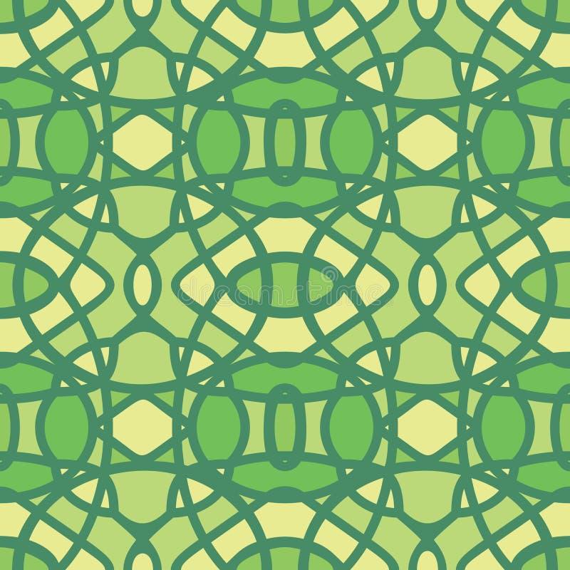 无缝抽象模式的重复 库存例证