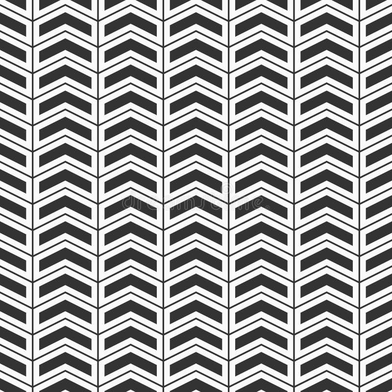 无缝抽象的模式 人字形节奏性结构  皇族释放例证