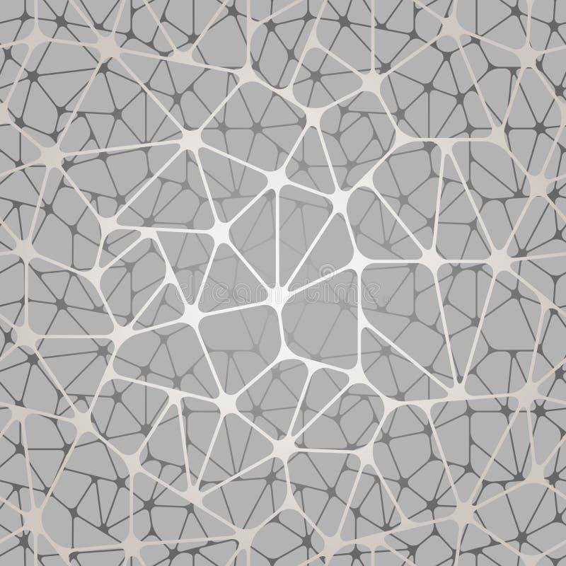 无缝抽象的模式 传染媒介意想不到的背景 库存例证