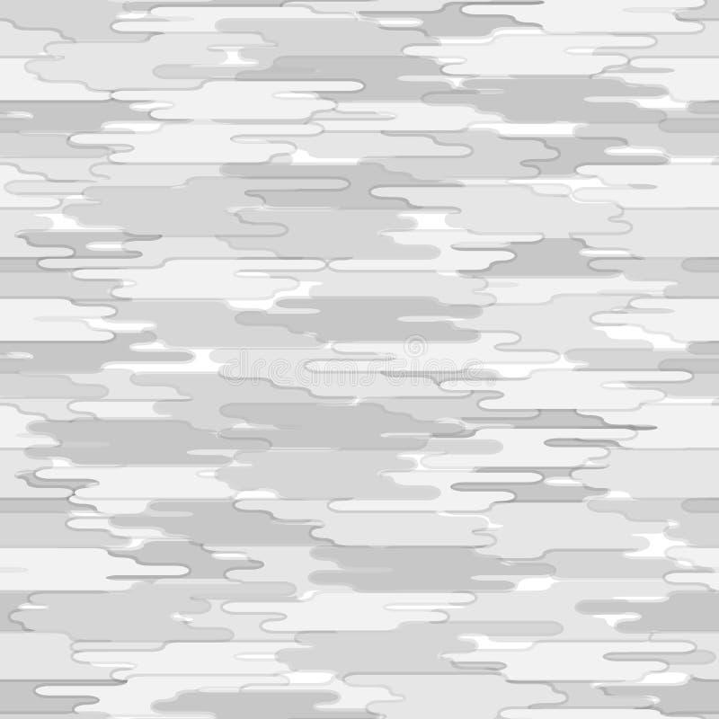 无缝抽象的模式 灰色颜色几何背景 向量例证