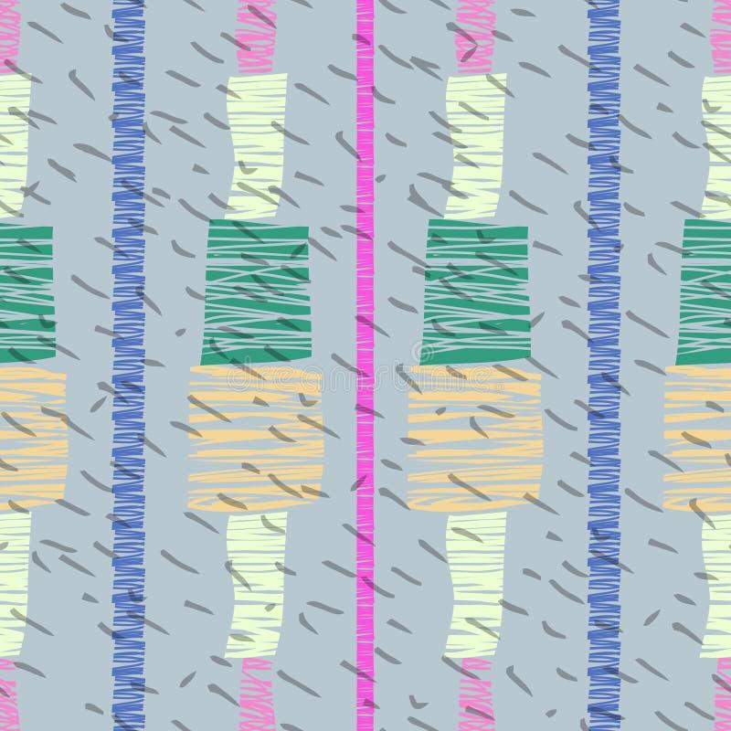 Download 无缝抽象的模式 向量例证. 插画 包括有 线路, 抽象, 几何, 创造性, 靠山, 简单, 样式, 数字式 - 72357367