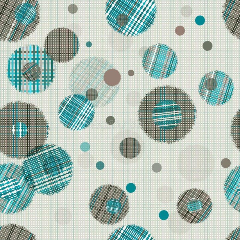 Download 无缝抽象的装饰品 向量例证. 插画 包括有 织品, 圈子, 抽象, 卵形, 颜色, 淡色, 灰色, 模式 - 62538378