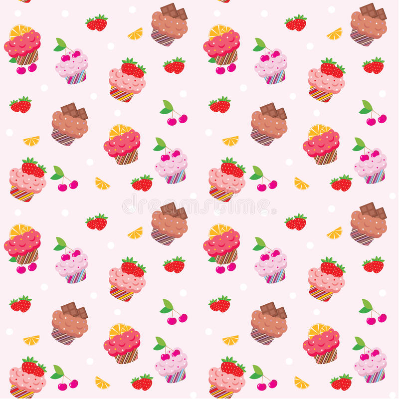 Download 无缝杯形蛋糕的模式 向量例证. 插画 包括有 收集, 背包徒步旅行者, 杯形蛋糕, 蛋糕, 艺术, 松饼 - 22357168