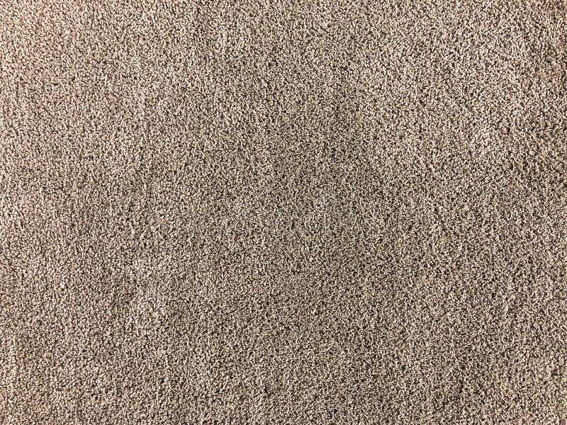无缝棕色地毯 库存照片