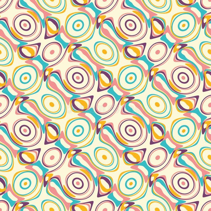 无缝现代的模式 向量例证