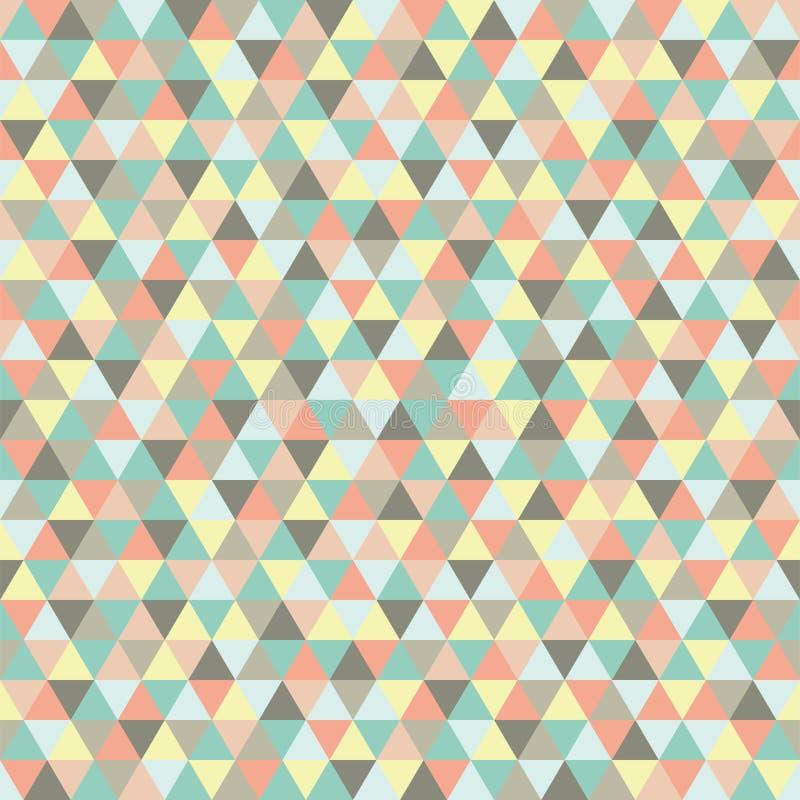 无缝的三角样式,背景,纹理 免版税库存图片