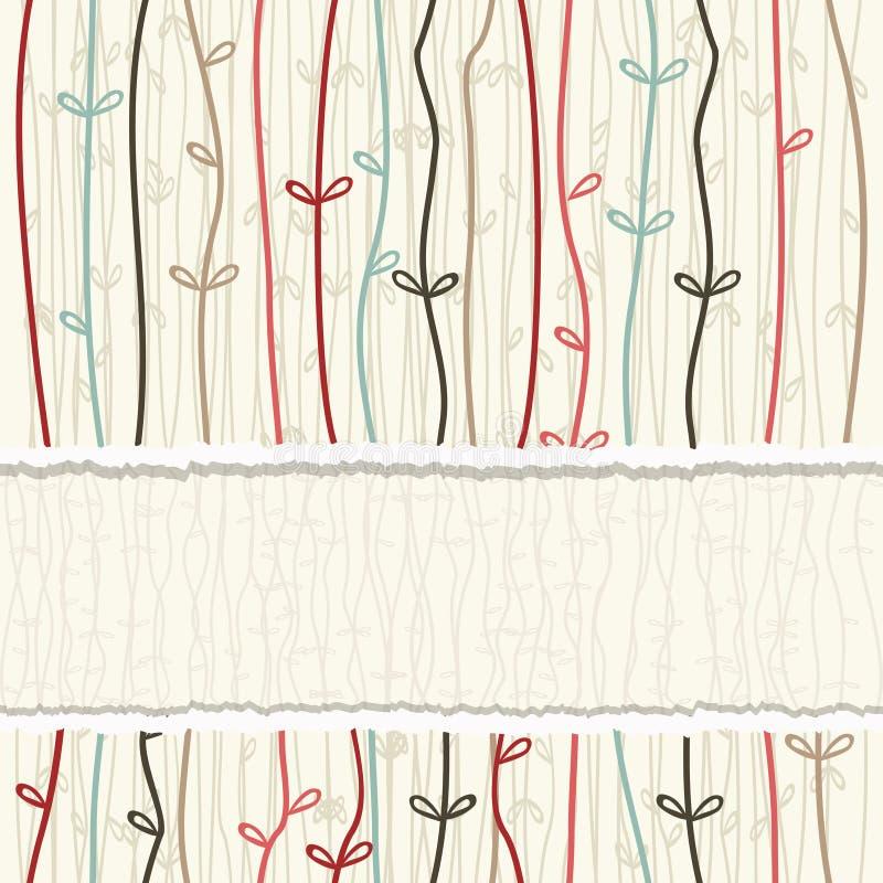 无缝的五颜六色的抽象样式 皇族释放例证