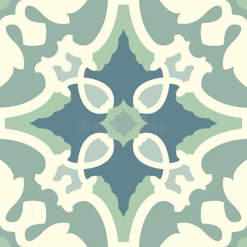无缝的五颜六色的装饰品瓦片 皇族释放例证