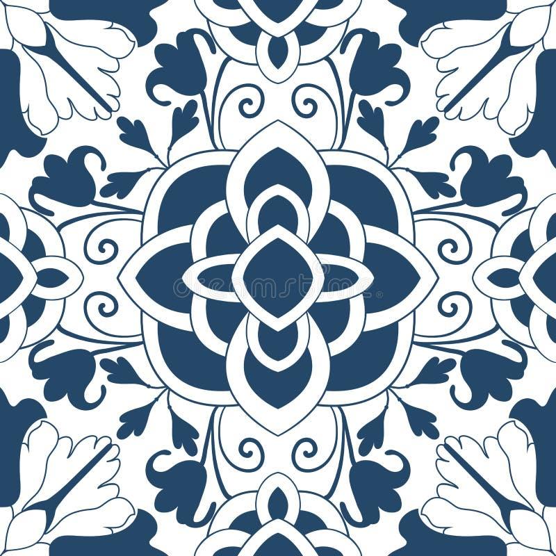 无缝的五颜六色的装饰品瓦片 向量例证